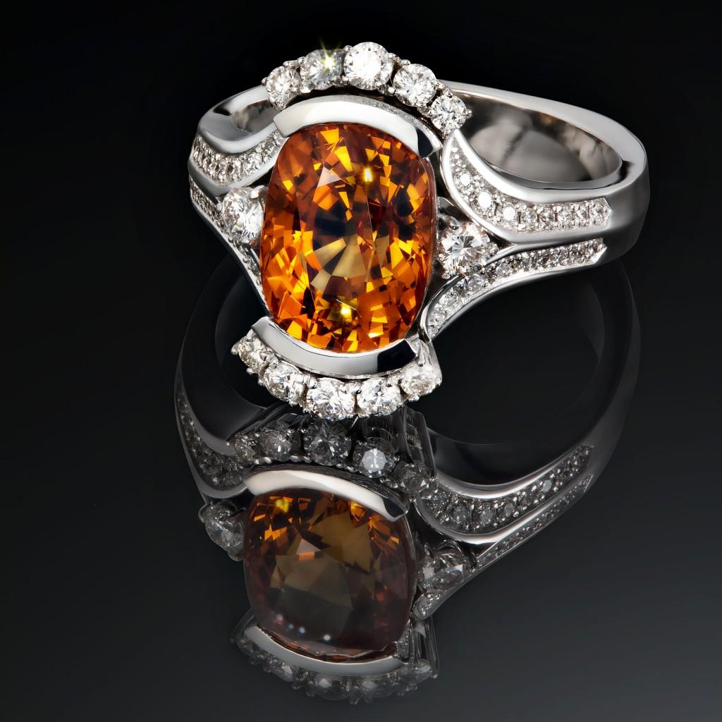 Mandaringranat Ring